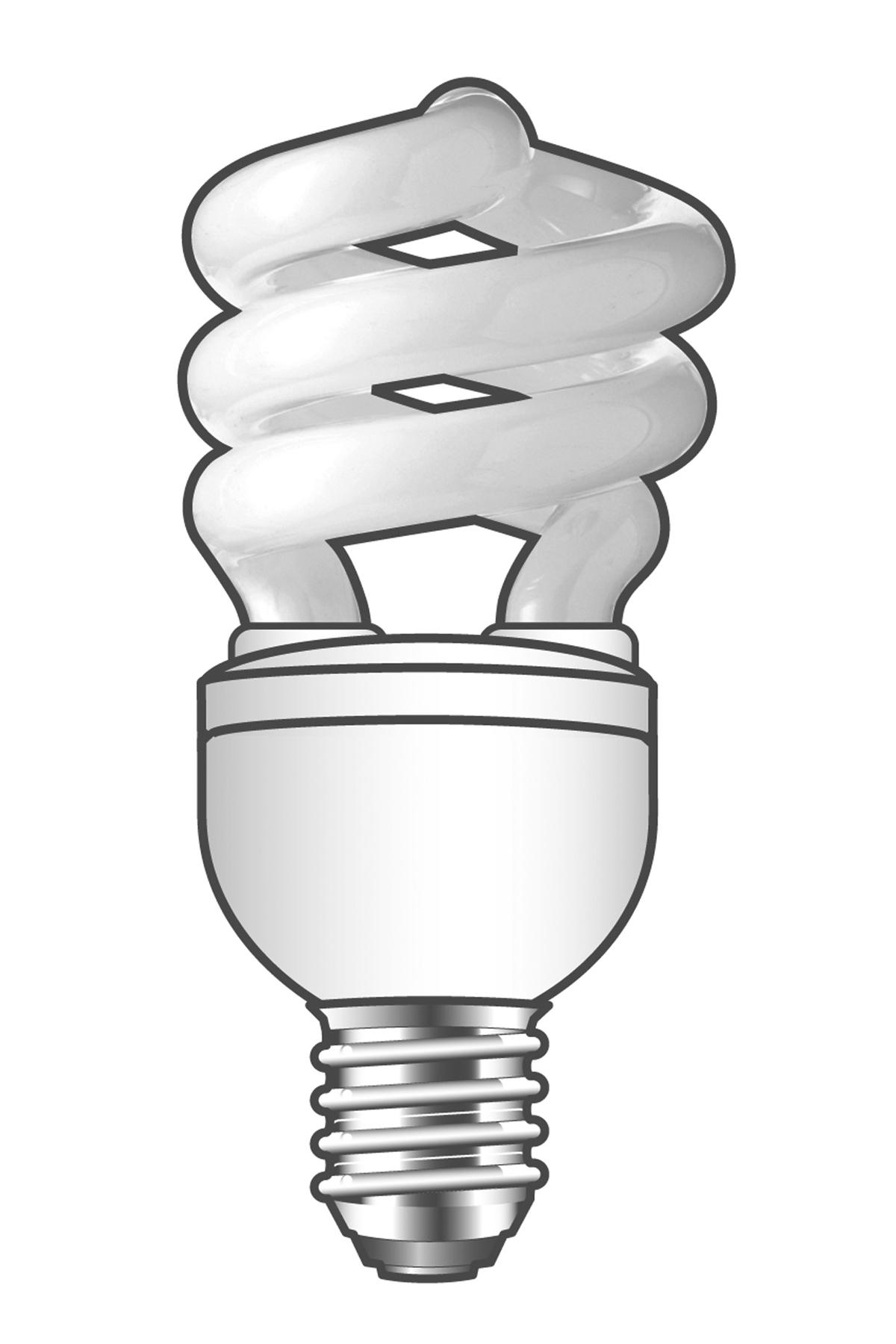Calex Calex Esaver Spiraal 24w E27 6500k Spaarlamp Daglicht