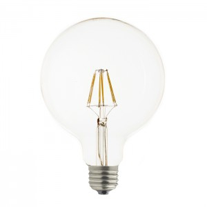 LAES LED Globe Filament  2W 230V E27 2700K 95mm