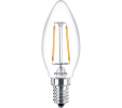 Philips LED Kaarslamp 2-25W E14 827 B35 Helder [574072]